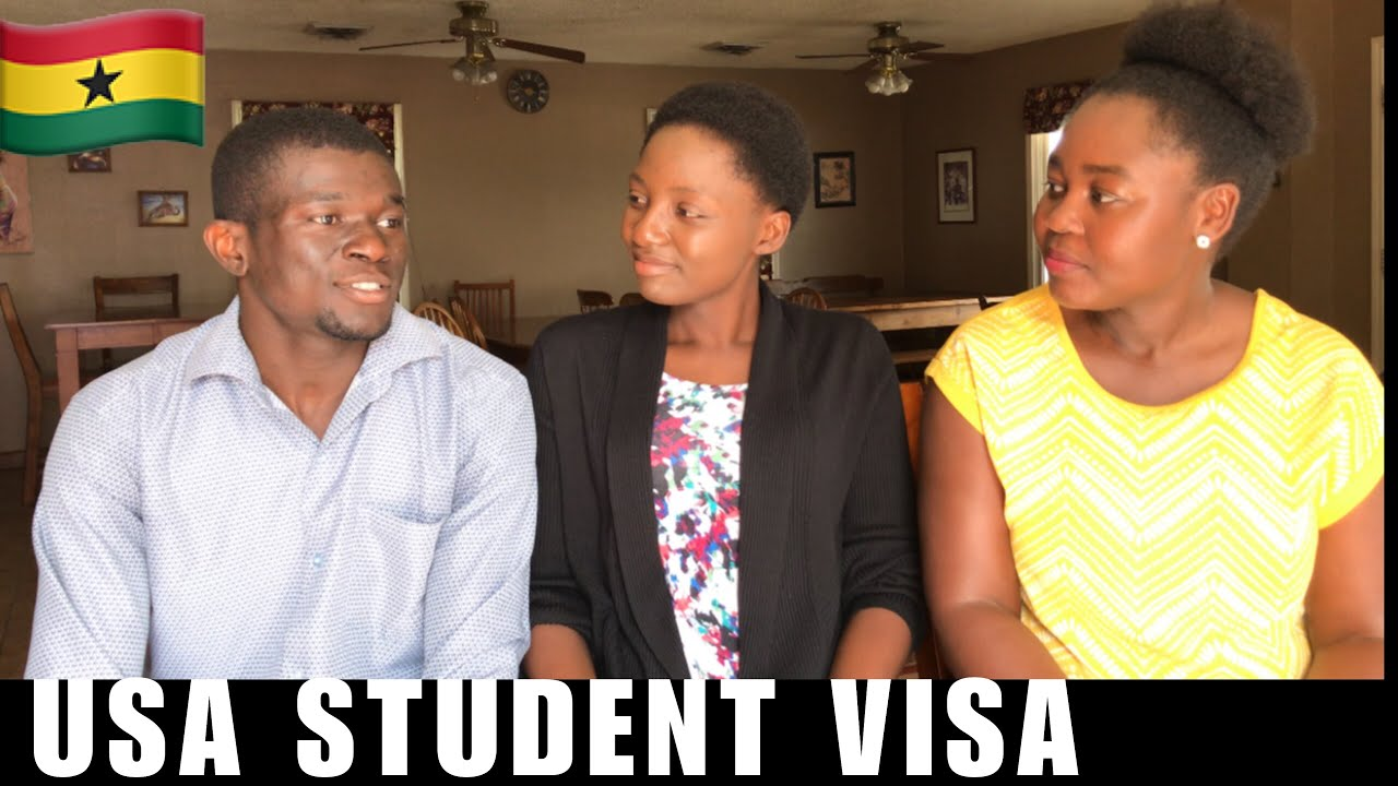 Download USA F1 Student Visa Interview Experience | Ghanaian Students in The USA