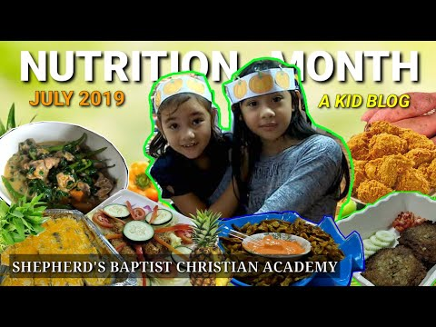 Nutrition Month July 2019   Shepherd's Baptist Christian Academy   A Kid Blog   #JulianneLouise