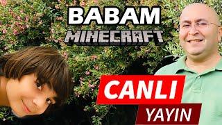 BABAM İLE hem Among Us hem Minecraft ( Among US Canlı Yayını )