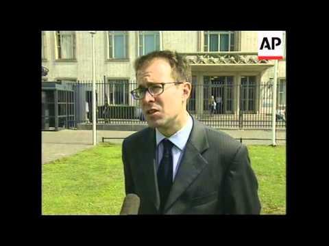 Croatian general arrives to face war crimes tribunal