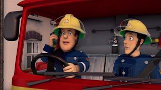 Sam el Bombero Español ⭐️Rescate en el camión de bomberos | Nuevo episodio | Dibujos