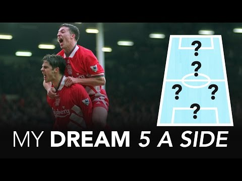 I played with a genius! | Jamie Redknapp's Dream 5 A Side