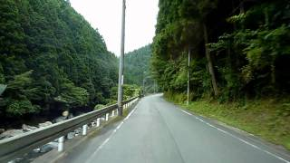 徳島県道16号 徳島上那賀線(新坂本トンネル~八重地トンネル)