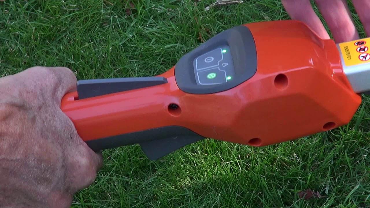Husqvarna Battery Trimmer: the superb Husqvarna 115iL