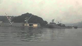韓国海軍 機雷敷設艦 元山(ウォンサン」) 2011年11月14日