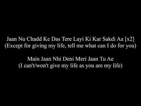 Jaan   Happy Raikoti (Lyrics + English Translation)   Meaning {Full Song}