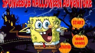 Spongebob Halloween Adventure Level 1-15 Walkthrough
