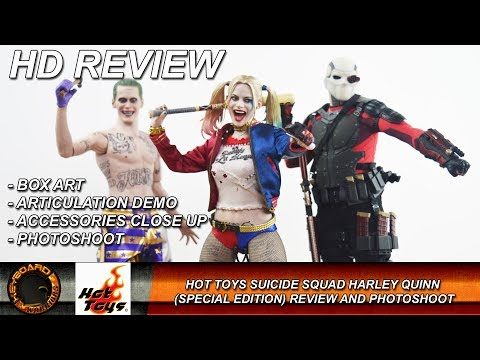 Hot Toys Suicide Squad Harley Quinn Review and Photoshoot