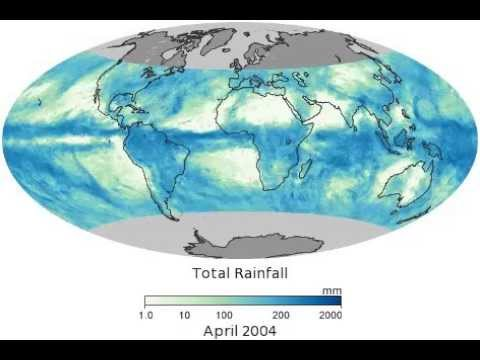 Total Rainfall (TRMM 3B43M -- from NASA Earth Observatory)