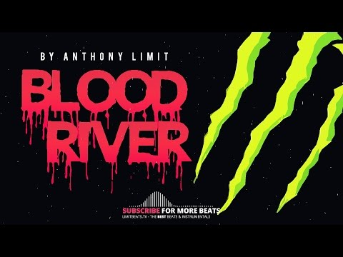 Rap Beat With BASS - Trap Beat | BLOOD RIVER (Produced By Anthony Limit)