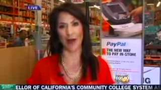 Claudia Lombana on KTXL FOX 40 April 5, 2012