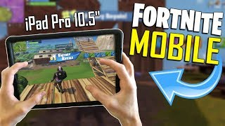 FAST MOBILE BUILDER on iOS / 250+ Wins / Fortnite Mobile + Tips & Tricks!
