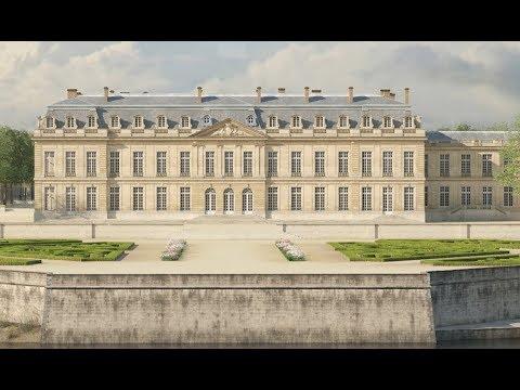 Les intérieurs du château de Choisy-le-Roi - YouTube