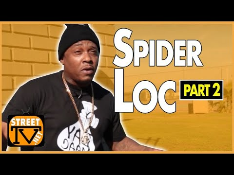 Spider Loc talks being pushed into a theology career as a kid then catching a life case (pt.2of2)