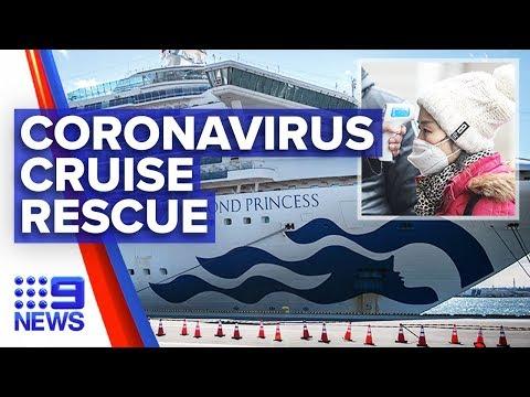 Coronavirus: Special team to evacuate Aussies from Diamond Princess | Nine News Australia
