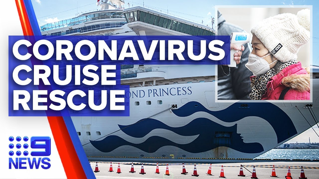 Coronavirus: Special team to evacuate Aussies from Diamond Princess | Nine News Australia