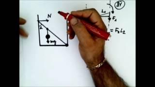 Физика .Механика.Статика.Подготовка к ЕГЭ Задача 81