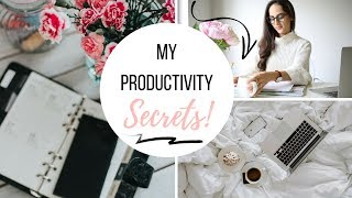 10 WAYS TO STAY ORGANIZED AND PRODUCTIVE ALL YEAR LONG!