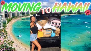 MOVING TO HAWAII! College Move In Vlog 2019! | Ronni Rae