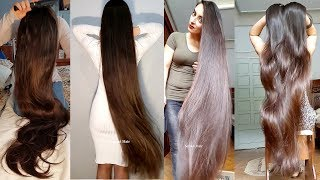Ever Video Ever Made Of This Real Life Long Hair Rapunzel [Ultimate Gohar]