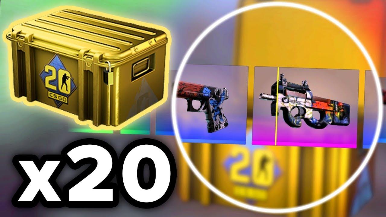 Открыл 20 НОВЫХ КЕЙСОВ - CS20 CASE (CS:GO) thumbnail