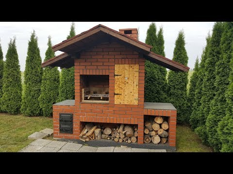 How to Build Awesome Smokehouse + BBQ - step by step + Pricelist
