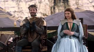 Lady Catelyn meets Renly Baratheon camp