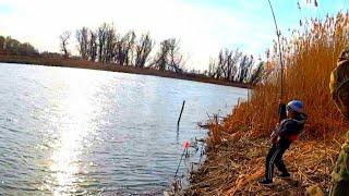 ТАЩИЛ двумя руками ВОТ ЭТО БОРЬБА рыбалка 2020 на поплавок