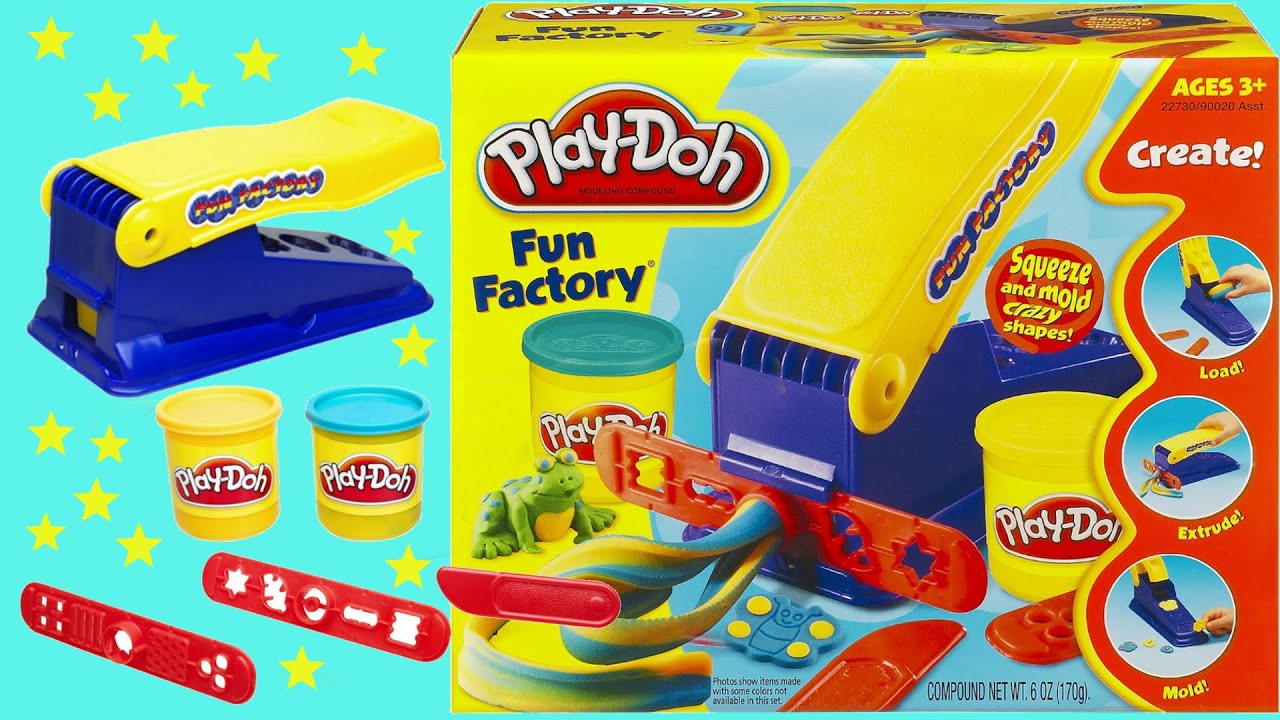 Mainan Anak Anak Fun Play Doh Fun Factory Set For Kids Toy