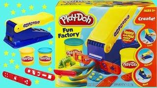 Mainan anak anak ❤ Fun! Playdoh Fun Factory set for kids Toy