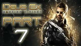 SAMIZDAT Deus Ex Mankind Divided Lets Play  Part 7 With Commentary PC Gameplay 1080p 60 FPS Social Media  Facebook DanQ8000  Twitter