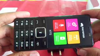 MICROMAX X772 UNBOXING (2018)