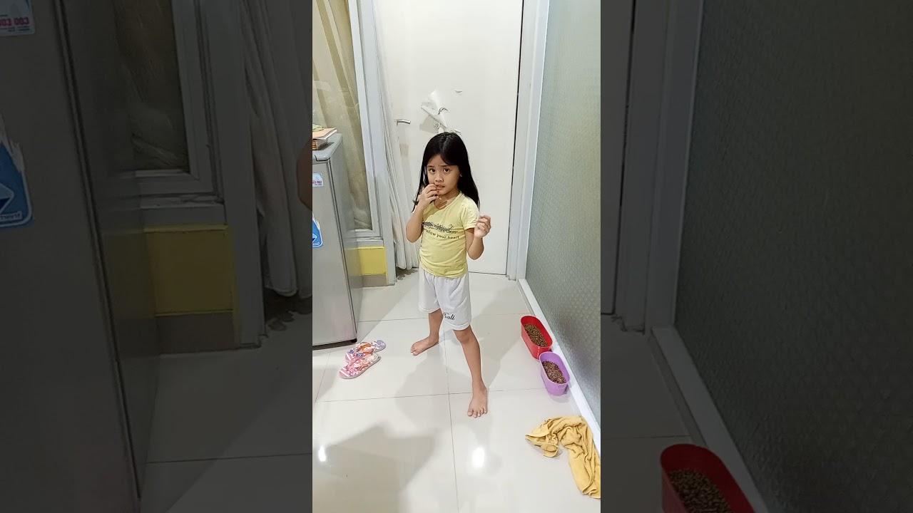 娘に日本拳法を教えてみた。 Yumna belajar nihon kenpo - YouTube