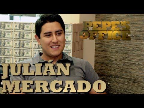 JULIAN MERCADO LISTO PARA ABRAZAR LA FAMA - Pepe's Office