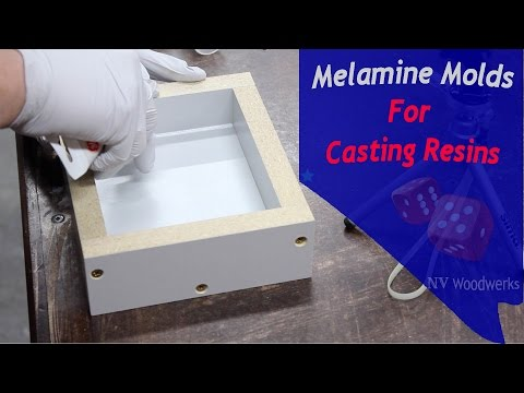 Make Melamine Molds For Resin Casting - NV Woodwerks