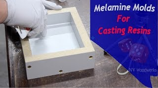 Make Melamine Molds For Resin Casting - NV Woodwerks