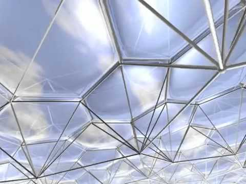 Butterfly Dome Etfe Youtube