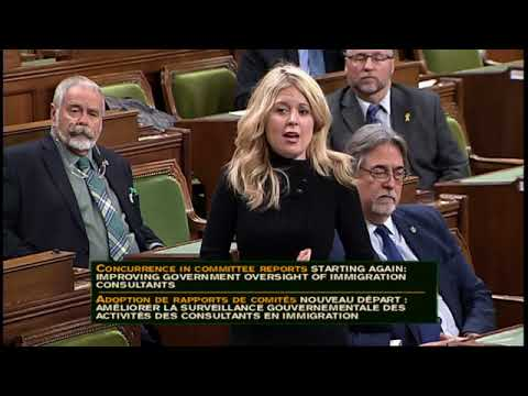 Watch Michelle Rempell introduce a motion to DEREGULATE ICCRC - Nov. 30, 2017