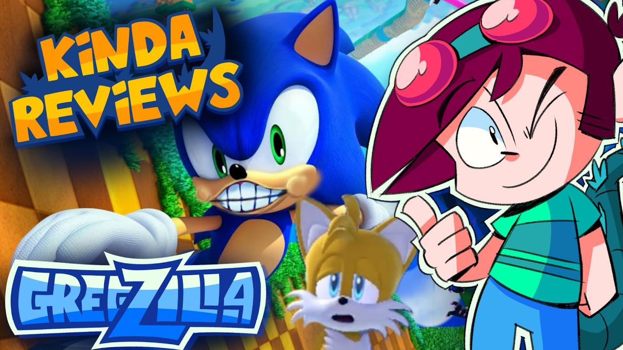 KINDA REVIEWS // Sonic Lost World - Gregzilla