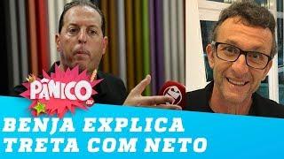 Benjamin Back fala sobre TRETA com Neto 'O cara me f e eu tenho que perdoar'