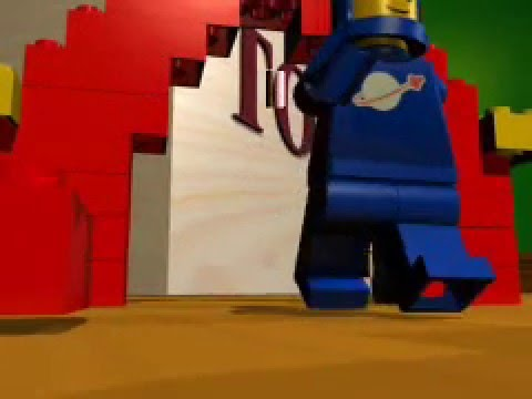 LegoMan Movie 3d - Soul Coughing Move Aside and Let the Man Go Through