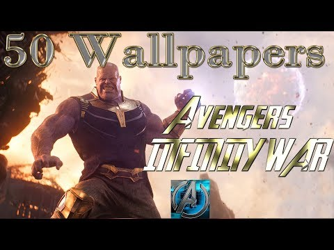 50 wallpaper Infinity War MArvel