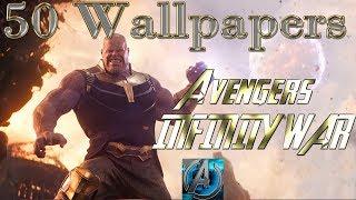 50 wallpaper Infinity War MArvel