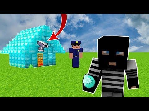 HIRSIZ VS POLİS #1 (Minecraft)
