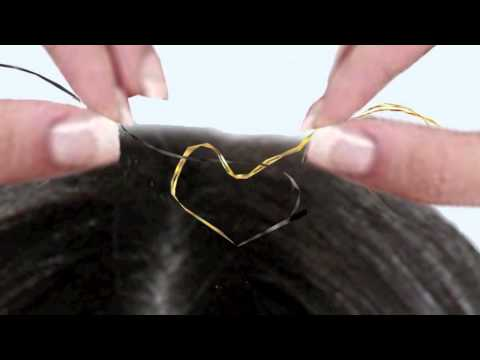 Hair Tinsel Tutorial All About Simple Directions For Application
