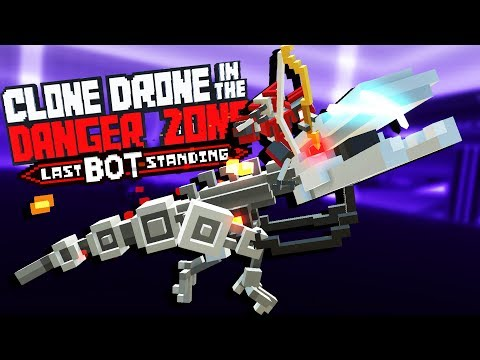 Riding A FLAME RAPTOR To VICTORY! - Clone Drone In The Danger Zone Gameplay