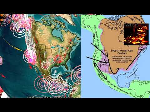 10/29/2017 -- Earthquake Forecast -- Threat ongoing next 4-5 days -- California new warning