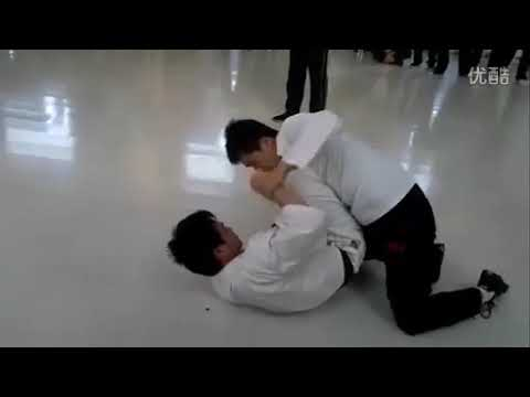 FINALLY ACTUALLY GOOD Wing Chun Ding Hao Vs Karate Real Fight!