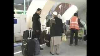 Kandahar Airport Report by Hewad TV 23.01.2013 - Interview with Ahmadullah Faizi