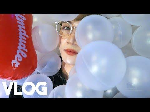 Swimming in Balls || Vlog - Edward Avila